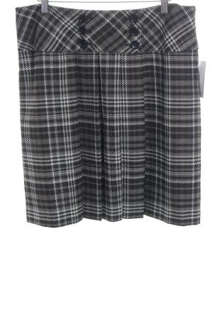 Steilmann Circle Skirt check pattern classic style