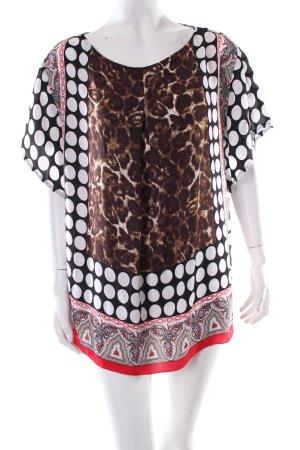 Steilmann Tunika abstraktes Muster extravaganter Stil