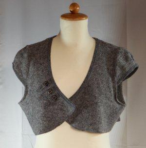 Steilmann Bolero lavorato a maglia grigio