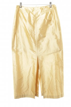 Steinbock Gonna in seta oro elegante