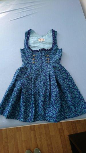 Original Steindl Vestido Dirndl azul oscuro