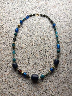 Necklace dark blue