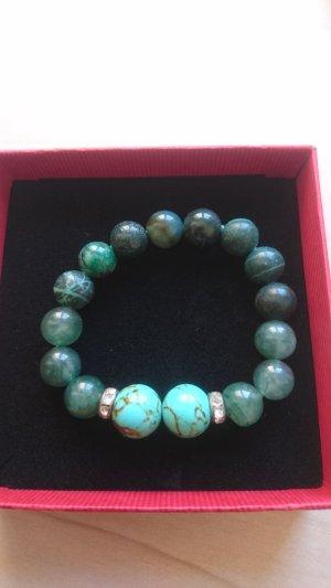 Steinperlen - Armband