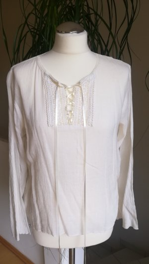 Crash Blouse natural white mixture fibre
