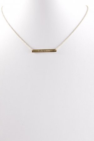 Stella & Dot Goldkette goldfarben Casual-Look
