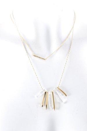 Stella & Dot Halskette goldfarben Elegant