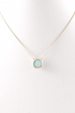 Stella & Dot Necklace gold-colored-turquoise Boho look