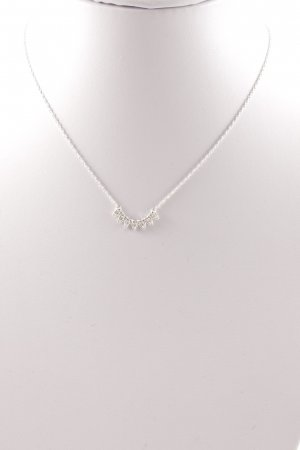 Stella & Dot Necklace silver-colored elegant