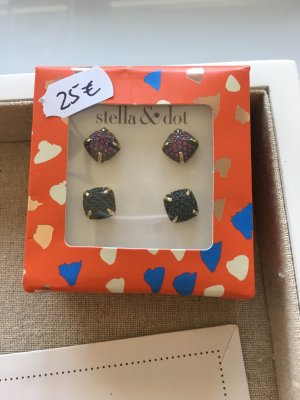 Stella & Dot Ear stud multicolored