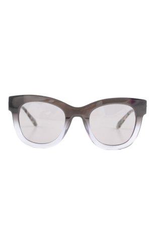 Stella & Dot runde Sonnenbrille graublau-roségoldfarben Casual-Look