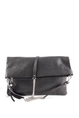 Stella & Dot Umhängetasche schwarz schlichter Stil