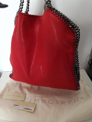 Stella McCartney Carry Bag red imitation leather