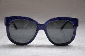 Stella Mc Cartney Sonnenbrille schwarz blau