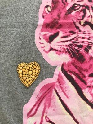 Stella Mc Cartney T-Shirt Tiger Pink