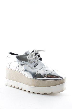"Stella McCartney Absatz Sneaker ""Elyse Platform Sneaker Hackney Indium/White 38,5"""