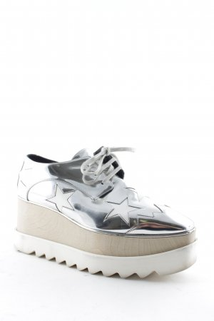 "Stella McCartney Zapatillas con tacón ""Elyse Platform Sneaker Hackney Indium/White 38,5"""