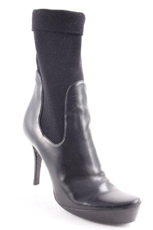 Stella McCartney Absatz Stiefel schwarz extravaganter Stil