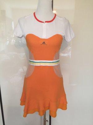 Stella McCartney Adidas Kleid Sport orange blogger hip tailliert