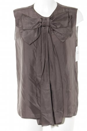 Stella McCartney Blusentop dunkelbraun Elegant