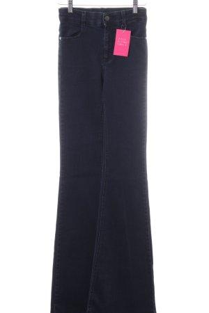 Stella McCartney Boot Cut Jeans schwarz Casual-Look