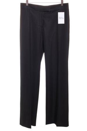 Stella McCartney Bundfaltenhose schwarz klassischer Stil
