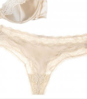 Stella McCartney Bottom cream silk
