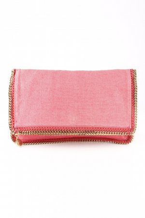 Stella McCartney Clutch goldfarben-ziegelrot Casual-Look
