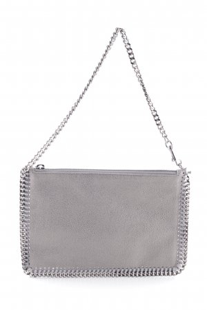 "Stella McCartney Clutch ""Purse Shaggy Deer Light Grey"""