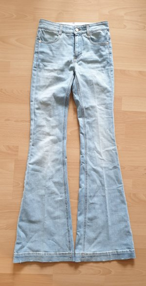 Stella McCartney  Faded 70s Flared Jeans schlaghose high waist