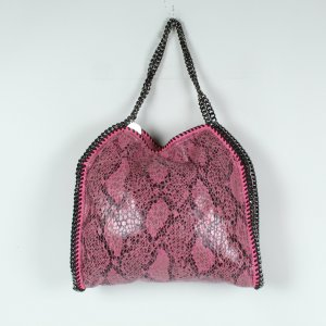 Stella McCartney Falabella Bag Small Snakeskin pink (19/09/261)
