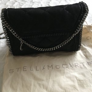 Stella McCartney falabella quilted crossbody bag schwarz
