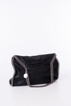 Stella McCartney Shopper noir-argenté faux cuir