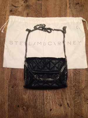 Stella McCartney Bolso negro-color plata