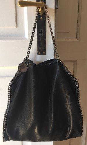 Stella McCartney Falabella Tote Bag mit Überschlag aus Shaggy Deer