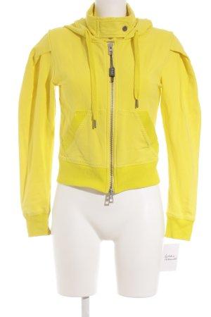 Stella McCartney for Adidas Felpa con cappuccio giallo-grigio scuro