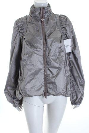 Stella McCartney for Adidas Sportjacke silberfarben-blasslila extravaganter Stil