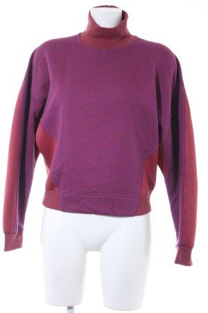 Stella McCartney for Adidas Sweatshirt flieder-dunkelrot sportlicher Stil