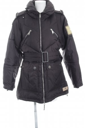 Stella McCartney for Adidas Winterjacke dunkelbraun Street-Fashion-Look