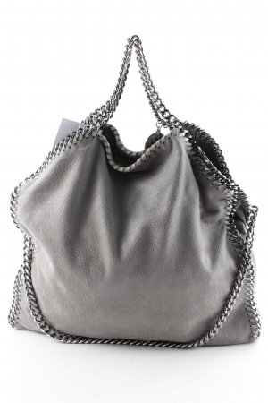 "Stella McCartney Carry Bag ""Falabella Small Tote Shaggy Deer Light Grey"""