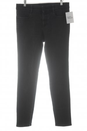 Stella McCartney High Waist Jeans schwarz-anthrazit Casual-Look
