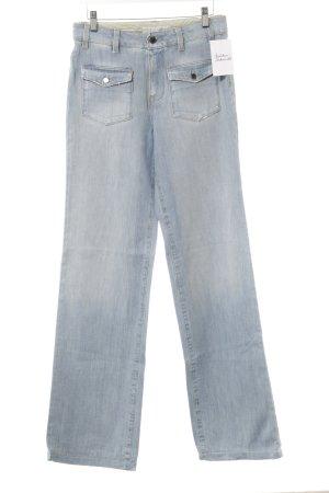 Stella McCartney Jeans flare bleu clair style décontracté