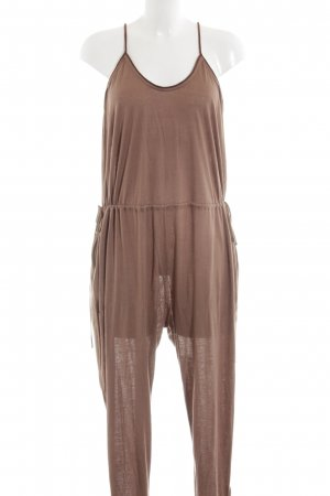 Stella McCartney Jumpsuit braun meliert Casual-Look
