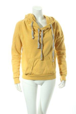Stella McCartney Kapuzensweatshirt dunkelgelb Casual-Look