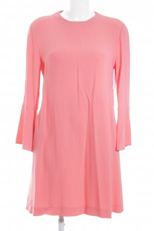 Stella McCartney Langarmkleid neonpink Party-Look