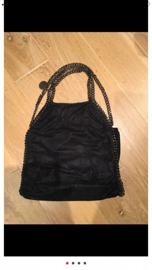Stella McCartney Limited Edition falabella in schwarz mit gunmetal Ketten