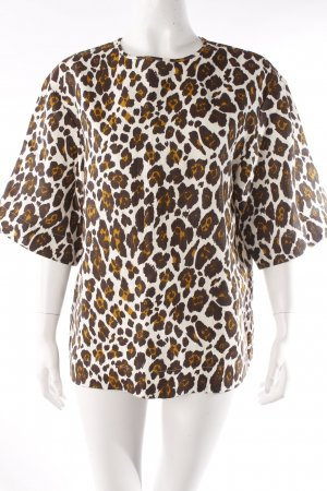 Stella McCartney Oversized Shirt Animal Print