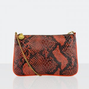 Stella McCartney Python Mini Bag Abendtasche