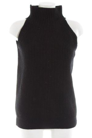 Stella McCartney Rollkragenpullover schwarz Casual-Look