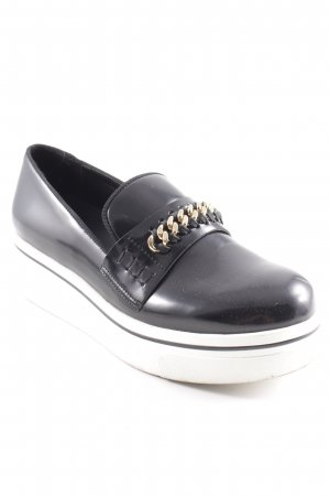 "Stella McCartney Schlüpfschuhe ""Bristol Stripe Ribbon Loafers"""