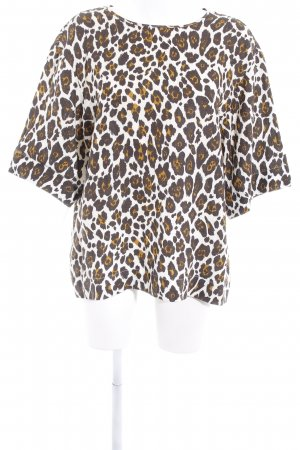 Stella McCartney Schlupf-Bluse Animalmuster Animal-Look
